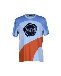 Viktor & Rolf - Blue T-shirt for Men - Lyst