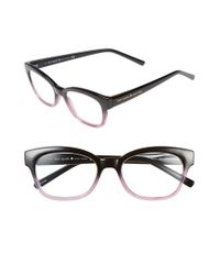 kate spade new york | Black 'amilia' 50mm Reading Glasses | Lyst