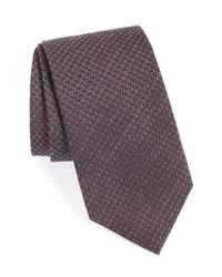 David Donahue | Purple Herringbone Tie for Men | Lyst