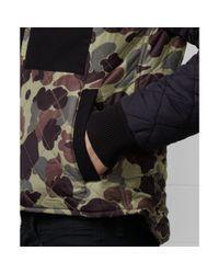 Denim & Supply Ralph Lauren - Green Work Wear Quilted Camo Jacket for Men - Lyst