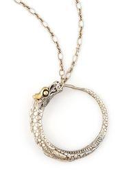 John Hardy - Metallic Naga Dragon Pendant Necklace - Lyst