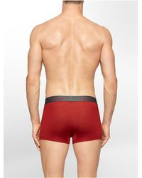 Calvin Klein | Red Underwear Body Modal Trunk for Men | Lyst
