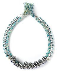 Joomi Lim | Blue Braided Choker Necklace | Lyst