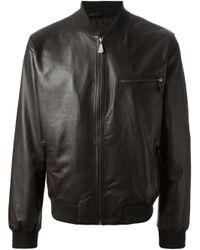 McQ | Black Bomber Jacket for Men | Lyst