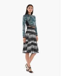 Veronica Beard - Black A-line Skirt - Lyst