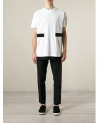 Givenchy | White Applique Detail T-shirt for Men | Lyst