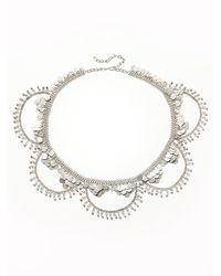 Free People | Metallic Moonshine Metal Belt | Lyst