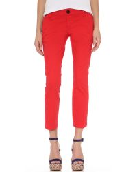 DSquared² - Red Betty Pants - Lyst