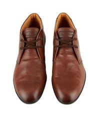 Santoni Brown Chukka Boot for men