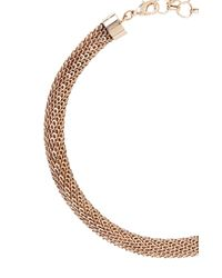 BCBGMAXAZRIA - Metallic Looped Chain Necklace - Lyst