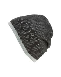 The North Face | Black 'ticker Tape' Reversible Beanie for Men | Lyst