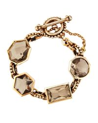 Stephen Dweck | Metallic Smoky Quartz & Bronze Bracelet | Lyst