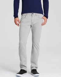 Armani | Gray Jeans - Slim Fit In Grey for Men | Lyst