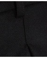 YMC - Black Wool Culottes - Lyst