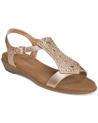 Aerosoles - Metallic Athens Gladiator Sandals - Lyst