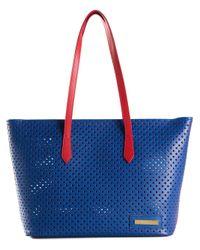 Vivienne Westwood - Blue Beverly Leather Shoulder Bag - Lyst