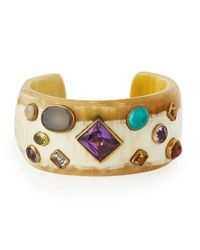 Ashley Pittman | Black Shinda Cuff | Lyst