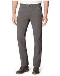 Calvin Klein Jeans | Gray Slim-Straight Pants for Men | Lyst