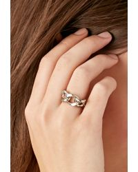 Forever 21 | Metallic Haati Chai Silv Ring | Lyst
