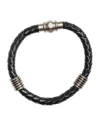 H&M | Black Braided Bracelet for Men | Lyst