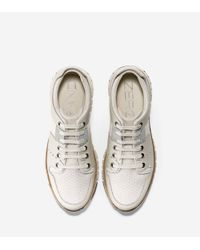 Cole Haan - White Zerøgrand Sport Oxford Sneakers for Men - Lyst
