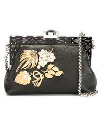 Dolce & Gabbana - Black 'vanda' Clutch - Lyst