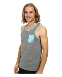 Body Glove | Gray Wreckin Crew Tank Top for Men | Lyst