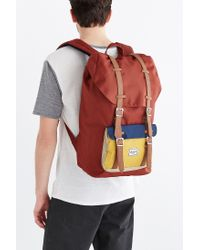 Herschel Supply Co. - Brown Little America Backpack for Men - Lyst