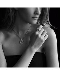 David Yurman | Metallic Albion Ring With Diamonds And Gold, 11mm Gemstone | Lyst