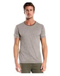 Michael Stars | Gray Short Sleeve Moulinex Crew Neck Tee for Men | Lyst