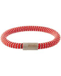 Carolina Bucci | Orange Red Twister Band Bracelet | Lyst