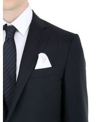 Corneliani | Blue Super 160's Wool Nanotechnology Suit for Men | Lyst