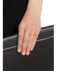 Maria Black - Metallic Le Witt Diamond Gold-plated Ring - Lyst