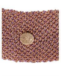 Carolina Bucci | Pink Diamond, Silk & Rose-Gold Bracelet | Lyst