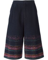 Henrik Vibskov | Blue 'surround' Culottes | Lyst