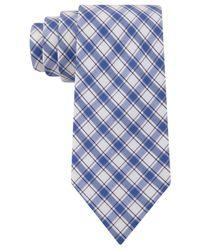 Tommy Hilfiger - Blue Picnic Plaid Tie for Men - Lyst