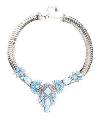 ALDO | Blue Frirella Tough Pretty Necklace | Lyst