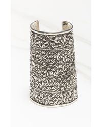 Natalie B. Jewelry   Metallic Protector Cuff   Lyst