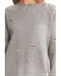 RTA - Gray Beal Sweatshirt - Lyst