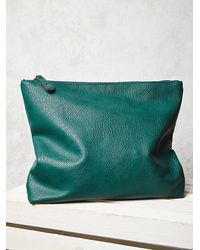 Free People - Green Slouchy Vegan Tote - Lyst