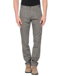 Philippe Model - Gray Casual Trouser for Men - Lyst