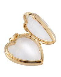 Loquet London - Metallic 14K Gold Large Heart Locket - Lyst
