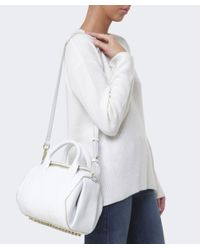 Alexander Wang - White Rockie Leather Bag - Lyst