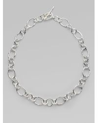 Ippolita | Metallic Glamazon Sterling Silver Chain Necklace for Men | Lyst