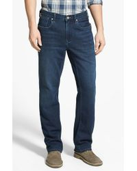 Tommy Bahama | Blue Denim 'cooper' Straight Leg Jeans for Men | Lyst