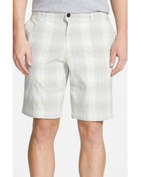 Tommy Bahama | Gray 'tech It Away' Check Shorts for Men | Lyst