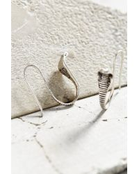 Urban Outfitters - Metallic Python Companion Drop Earring - Lyst