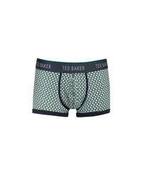 Ted Baker - Green Moneta Swan Boxer Briefs for Men - Lyst