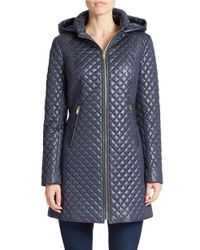Via Spiga | Black Quilted Jacket | Lyst