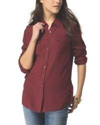 Tommy Hilfiger | Purple Femi Shirt | Lyst